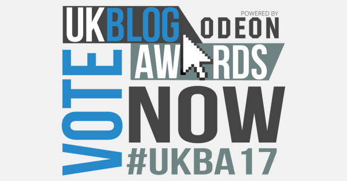 UK Blog Awards 2017